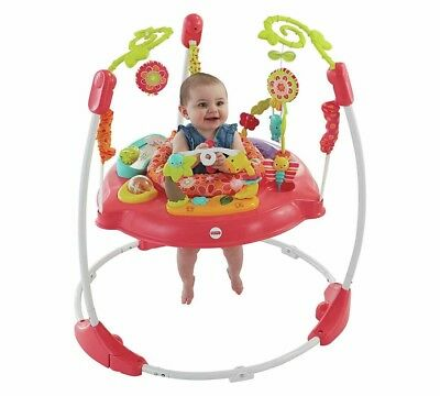 """Jumperoo - fisher price, pink petals - in Excellent Condition """""""