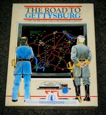 The Road To Gettysburg Computer War Game for Apple II
