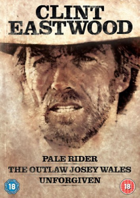 Clint Eastwood Westerns Collection 3 Dis  (UK IMPORT)  DVD NEW