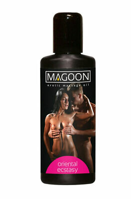 Magoon Oriental Ecstacy Aroma Massageöl 100ml Erotik Massage Öl Wellness Sex