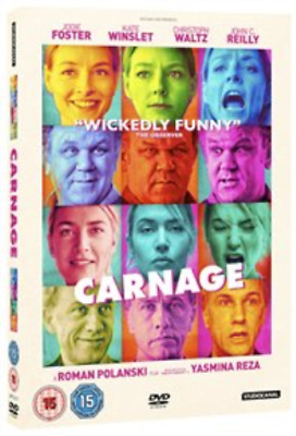 Jodie Foster, Kate Winslet-Carnage  (UK IMPORT)  DVD NEW