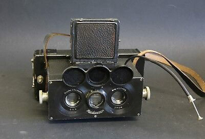 Francke & Heidecke Heidoscop Stereo camera for 6x6cm in good condition