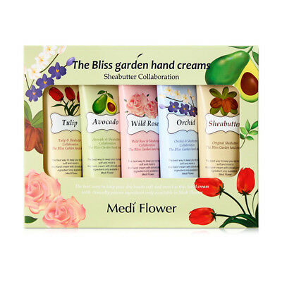 MEDI FLOWER ® The Bliss Garden Hand Creams Set 50g * 5ea