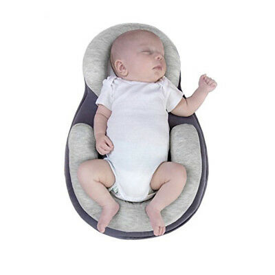 Soft Infant Baby Pillow Prevent Flat Head Positioning Cushion Sleeping Support W