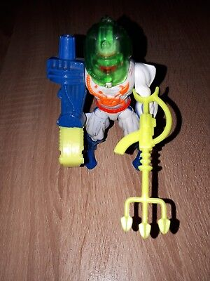MASTERS OF THE UNIVERSE NA He-Man Spin Fist Hydron komplett  Actionfigur 1992