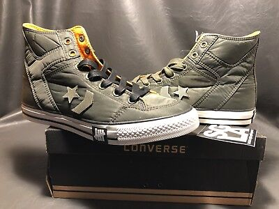 9d667719bc94 Authentic Deadstock UNDEFEATED Converse Poorman Weapon Hi OLIVE 2010 release