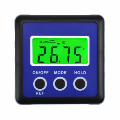 plastic digital protractor angle meter ruler Level Gauge Magnetic Base