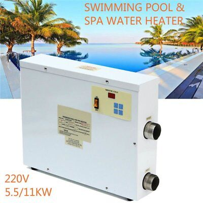 5.5/11KW 220V Electric Water Heater Heating Thermostat Swimming Pool&SPA Bath