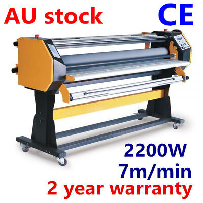 """BEST 67"""" Stand Frame Full-auto Single Side Large Format Hot / Cold Laminator AUS"""