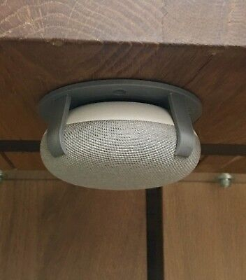 SturdyGrip™ Google Home Mini Mount (Gray/Chalk)