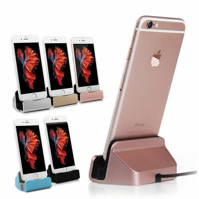 Phone Charging Dock Station Charger Holder Stand for iPhone 6 6s 7 7 Plus SE 8