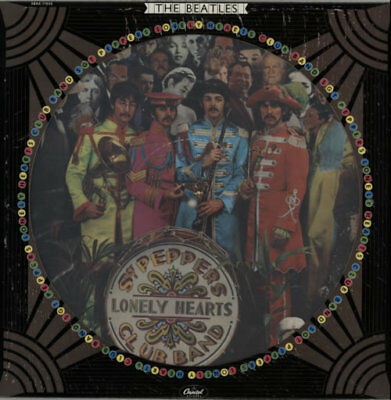 Sgt Peppers Lonely Hearts C... Beatles USA picture disc LP vinyl  record