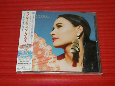 2018 Japan Cd Kacey Musgraves Golden Hour With 3 Bonus Tracks For Japan