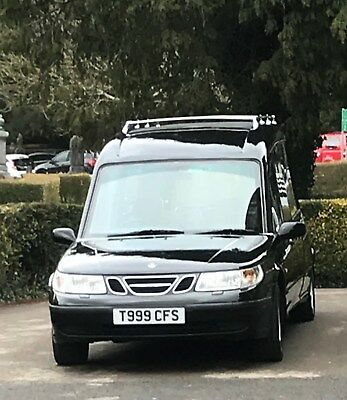 SAAB BASED COLEMAN Milne funeral hearse not limousine