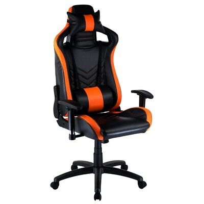Black/Orange Gaming Office Chair- Performance Series
