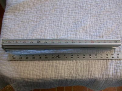 Alloy Table Scale  From Vintage Delta Rockwell Homecraft Jig Saw Ser #AA6660