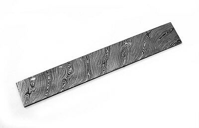 Custom Twist Damascus Steel Billet Bar For Making Knife BB1