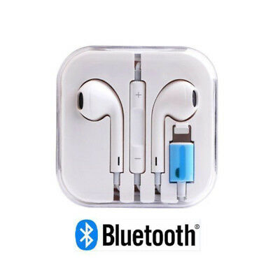 Bluetooth Wired Headset Earphone /w Mic Volume Headphone for i Phone X 7 8 Plus