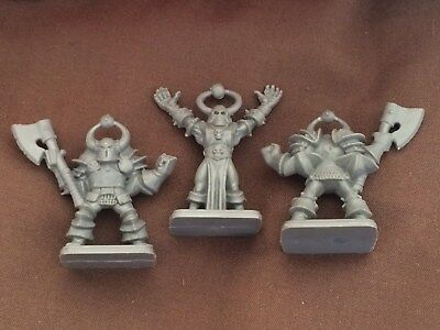 Chaos sorcerer Chaos warrior for Hero Quest Heroquest Games Workshop MB games