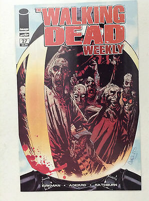 Walking Dead Weekly#27 Nm High Grade 9.4+ Cgc New Image Comics 1St Governor 9.8