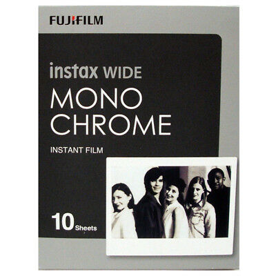 Fuji Instax Wide MONOCHROME Instant Film 10 Pictures