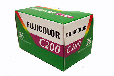 Fuji Fujicolor C200 36exp film - Good All-round 200 speed film