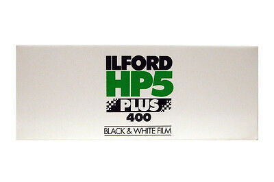 Ilford HP5 Plus 400 Black & White Film 120 Roll Film - Dated 01/2020