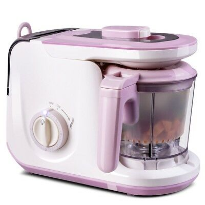 Electric 5 in 1 Puree Heating Defrosting Blender Baby Food Feeding Processor Hot
