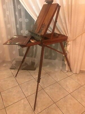 French Art Easel by LeFranc, Made in France  1900s