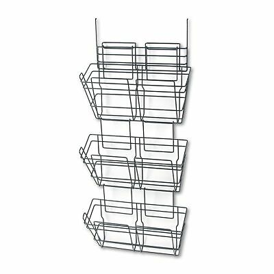 Safco Panelmate Triple File Baskets, Charcoal (4151CH)