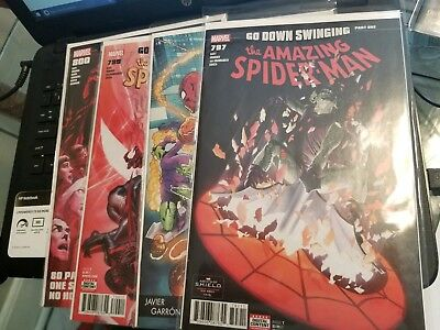 amazing spider-man 797 798 variant 799 800 nm never read never opened