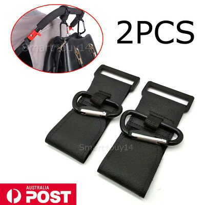 2x PRAM HOOK Baby Stroller Hooks Shopping Bag Clip Heavy duty Hanger Hooks