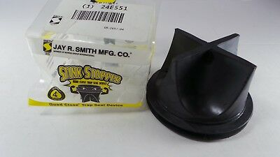 (Qty 1) Jay R Smith Stink Stopper Quad Close Trap Seal 2692-04 for 4 inch Drains
