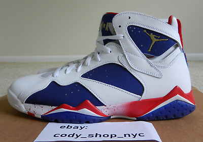 new concept d6081 a6a36 DS Nike Air Jordan 7 Retro Alternate Olympic size 12 Tinker usa vii 304775- 123