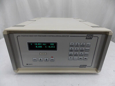 Dh Dhi Instruments Ppck-P6 Pressure Controller Calibrator 6000 Psi New Display