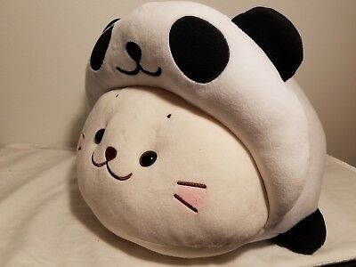 NEW SIROTAN Baby Seal LIMITED Japan Kawaii Panda Large Plush Doll Pillow 46cm
