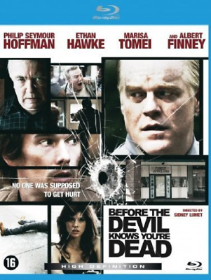 Before the Devil Knows you're Dead - Dutch Import  (UK IMPORT)  Blu-Ray NEW