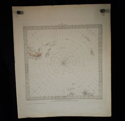 1831 Map - Circumjacent The South Pole by J. & C. Walker       52291