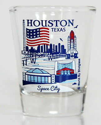 Houston Texas Great American Cities Collection Shot Glass Shotglass