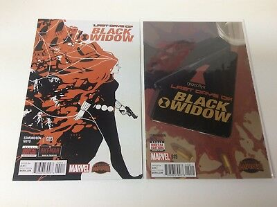 Black Widow #19-20 (Marvel/2014/edmonson/noto/final Issue/0118239) Full Set Of 2
