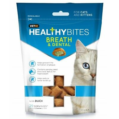 VETIQ Breath And Dental Cat Treats (BT306)