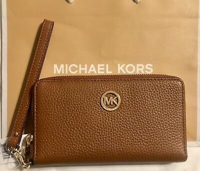 2d6addfbc194 Michael Kors Fulton Jet Set Large Flat Multifunction Phone Case Wallet  Luggage