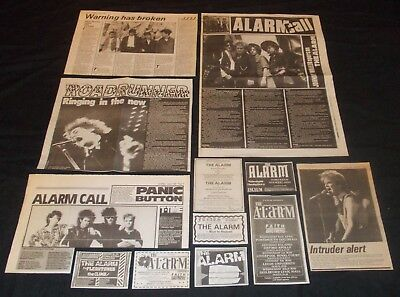 The Alarm - Collection Of Vintage Magazine Advertisements (Mike Peters)