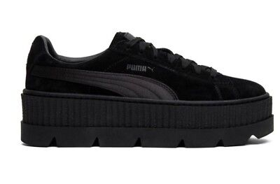 best authentic 40b31 d6b67 Puma X Fenty Rihanna Cleated Creeper Suede Black Size 9.5 $160