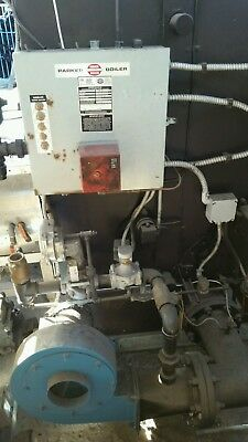 Boiler,parker Boiler, 50Hp, Low Nox, Natural Gas, Manufacturred Year 2003