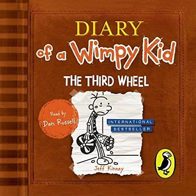Jeff Kinney-Diary Of A Wimpy Kid 7: Third Wheel  (Uk Import)  Cd New