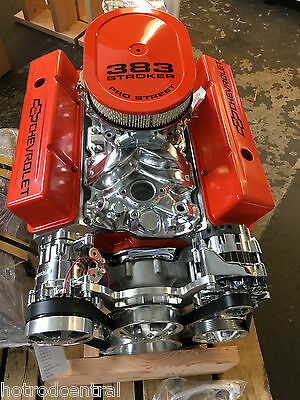 CHEVY TURN KEY SBC 406 Stroker Engine - 550 HP CRATE MOTOR