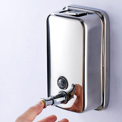 Stainless Steel Wall Mounted Soap Body Hand Hair Wash Dispenser For Home Hotel