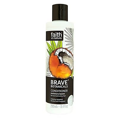 Faith in Nature Brave Botanicals Moisture Boost Coconut Conditioner