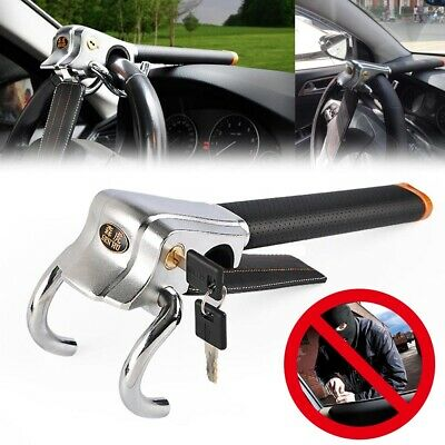 Foldable Car Security Approved Stoplock Car Van Steering Wheel Lock with 2 keys